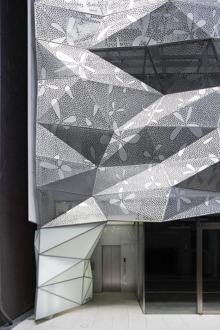 Facade Design: Dear Ginza Office Building, Tokyo, Japan By Amano Design  Design Ideas Office Design