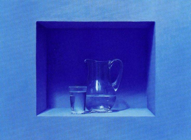 Autor: Guillermo Muñoz Vera Nombre: El agua Óleo y alquídico sobre lienzo encolado a tabla. 62,5 x 84 cm.