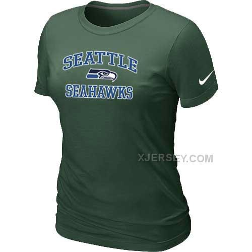 http://www.xjersey.com/seattle-seahawks-womens-heart-soul-dgreen-tshirt.html SEATTLE SEAHAWKS WOMEN'S HEART & SOUL D.GREEN T-SHIRT Only 24.60€ , Free Shipping!