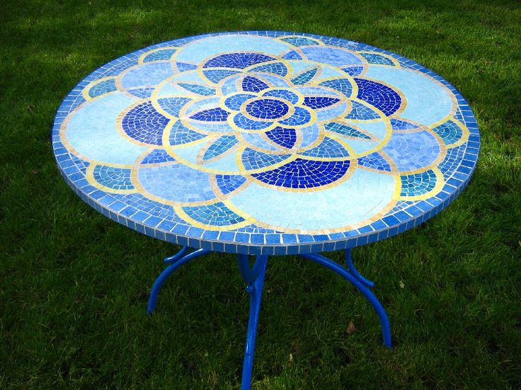 Les 25 meilleures id es de la cat gorie table mosa que sur pinterest tables en carrelage for Achat table de jardin mosaique