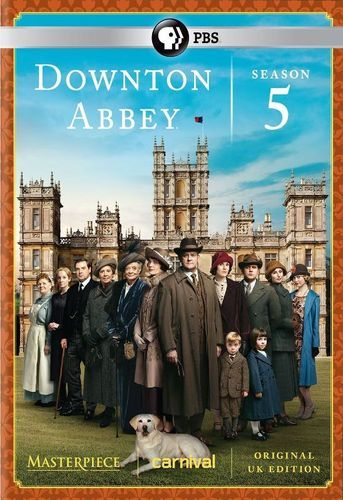 Masterpiece: Downton Abbey - Season 5 [3 Discs] [DVD]