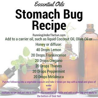 Jolene Roberts: Running Under the Sun Essential Oils for Stomach Bugs