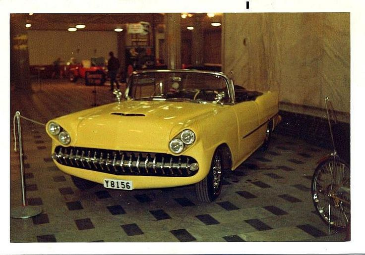 1955-chevy custom convertible | Flickr - Photo Sharing!