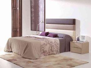 Cabecero Tapizado LD Desiree 690C con tres colores de polipiel y para todas las medidas de cama