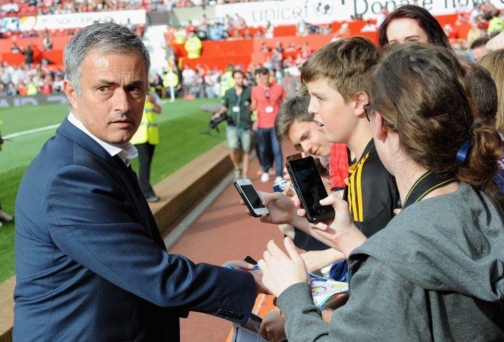 Jose Mourinho Photos: Soccer Aid 2014