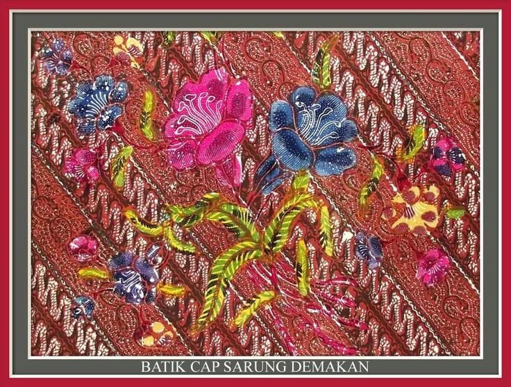 Batik Cap Sarung Demakan