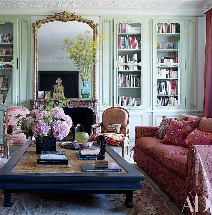 Say bonjour to inspiring interiors that showcase the French way of life at its finest | archdigest.com