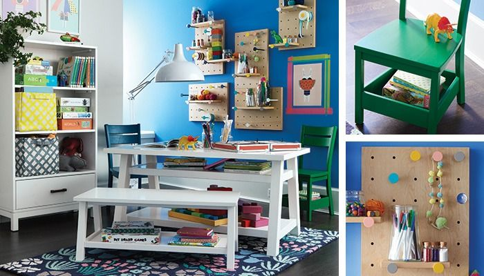 Explore a variety of kids playrooms at The Land of Nod to find design ideas and inspiration for the perfect room. Browse kids playrooms.