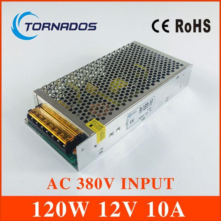 <b>AC</b> 380V <b>input</b> 12V 10A output 120W switching power supply of high ...
