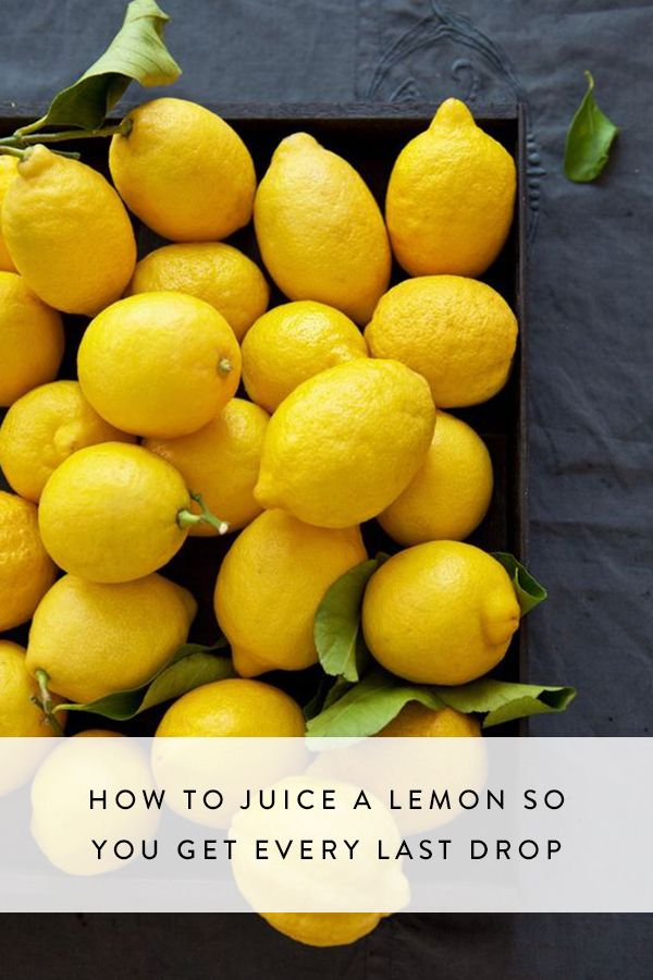 Whether you're making lemon bars or zesting for a salad, here's the easiest way to squeeze citrus so you get every last bit of juice from them.