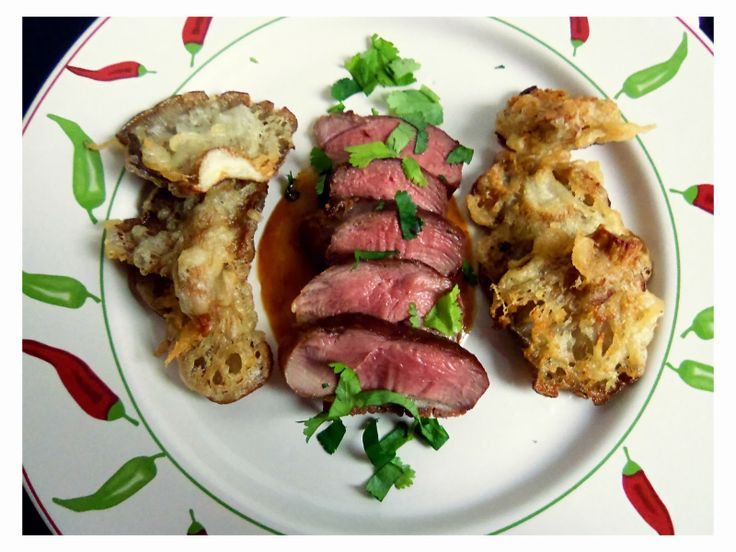 Duck Breast with Fennel Sauce and Oyster Mushrooms   You've Got Meal!