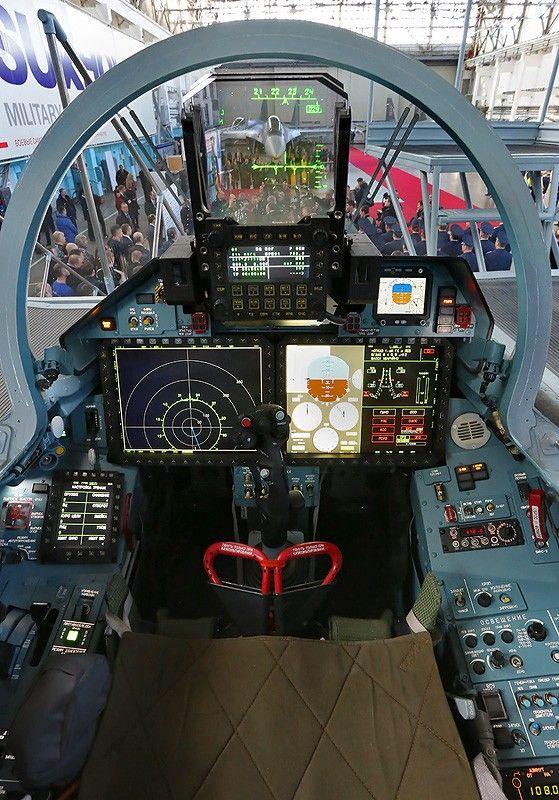 Su-35S Cockpit