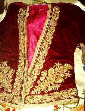 Osmanlıda Giyim - cepken yelek / Clothing in the Ottoman Empire - bolero jacket