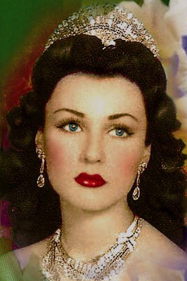 Princess Fawzia, sister of King Farouk of Egypt