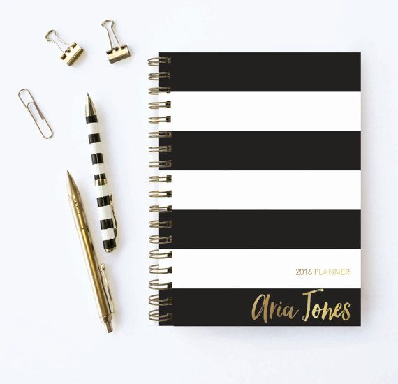 Weekly Planner  Personalized Planner  Choose Start by KarmaPaperCo