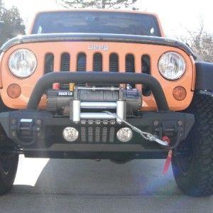 Rugged Ridge XHD Aluminum JK Jeep Wrangler Front Bumper