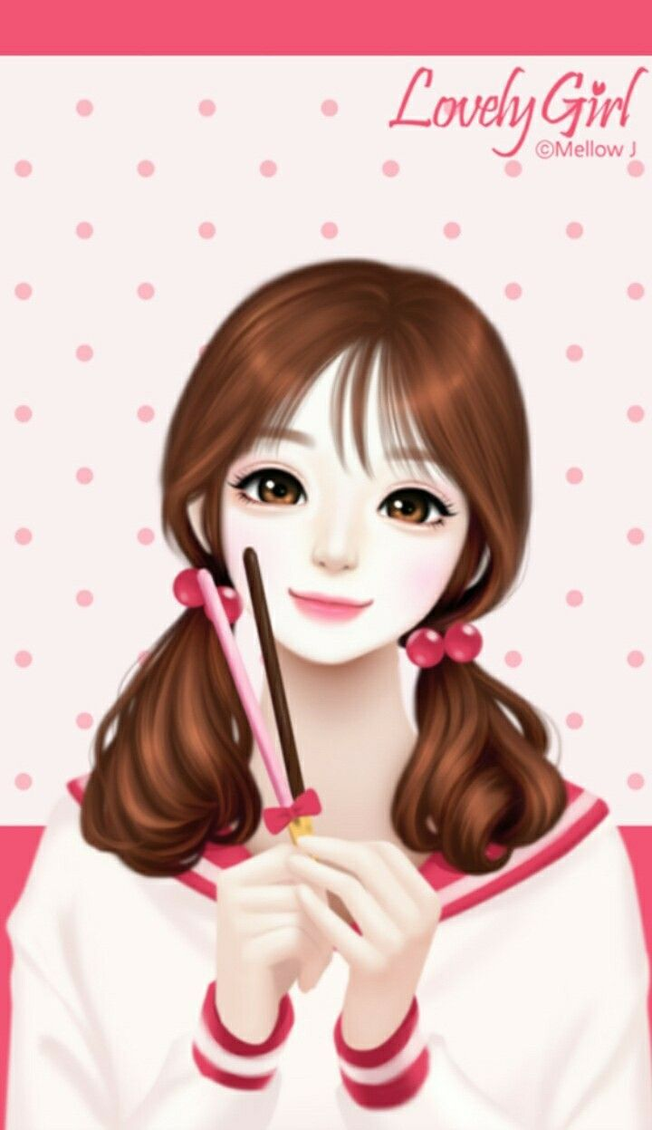 Gambar wallpaper anime korea kampung wallpaper - Gambar anime girl cute ...