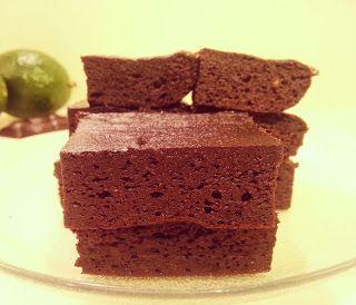 Tatlı Farklı Mutlu Tarifler :): Avokado Browni