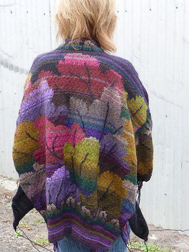 Tapestry Leaf Jacket by Kaffe Fassett