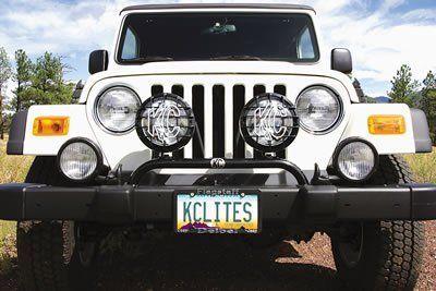 8 best jeep stuff images on pinterest jeep stuff jeep and jeep kc hilites 7400 1997 2006 jeep wrangler tj stock bumper mount 2 tab light aloadofball Choice Image