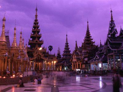 Pagoda in Yangoon