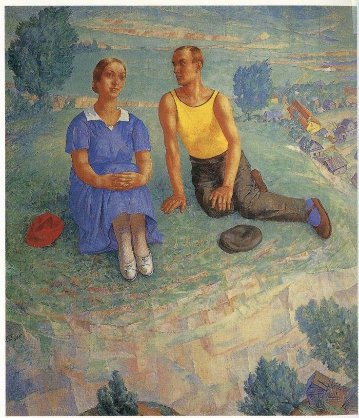 Романтизм эпохи большевизма - Кузьма Петров-Водкин. Весна