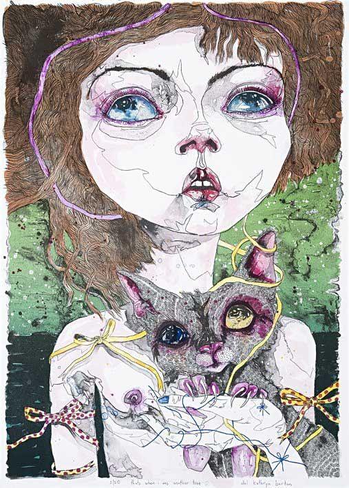 http://www.dailyartfixx.com/2010/06/18/del-kathryn-barton-painting/
