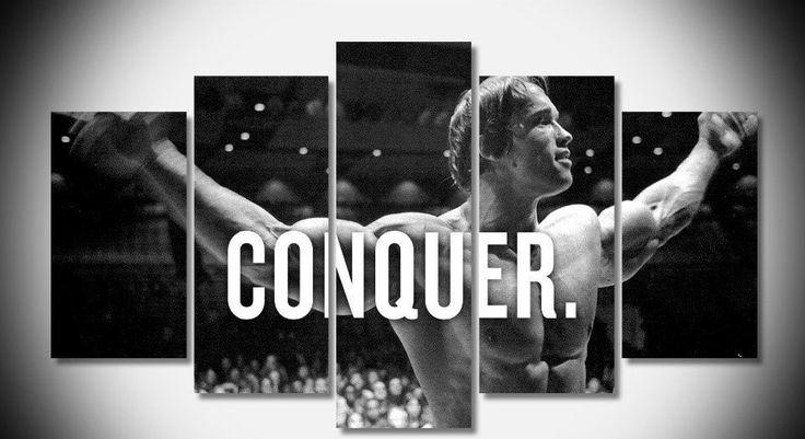 #BodyLikeArnold #Motivation #ConquerYourself #MotivationCanvas #HaveItNow #PersonYouFightingAgainstIsYou
