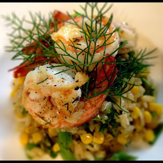 Yamba Prawn Risotto by @equalitycateringco