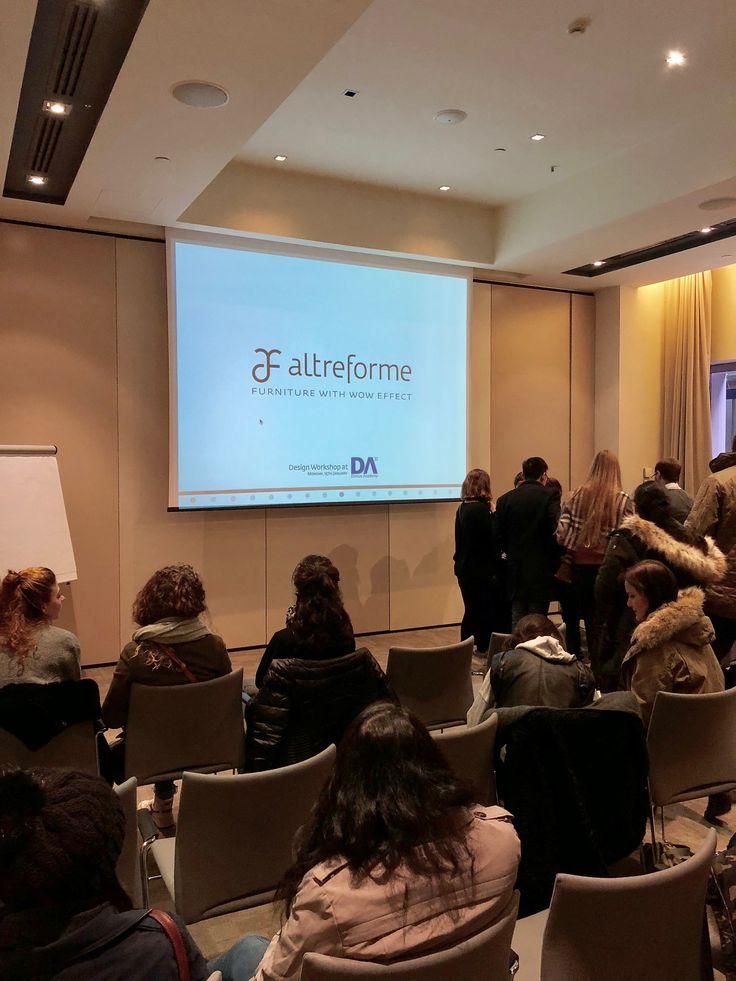 #altreforme #workshop at #DomusAcademy, #interior #home #decor #homedecor #furniture #aluminium #woweffect #madeinitaly