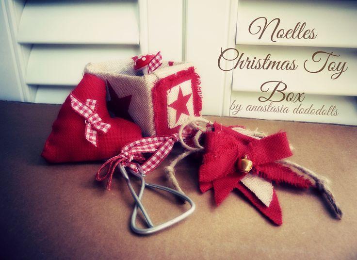 Noelle's Christmas Toy Box by anastasia dododolls
