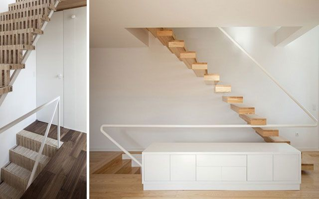 14 best images about barandas on pinterest wooden for Diseno de escaleras