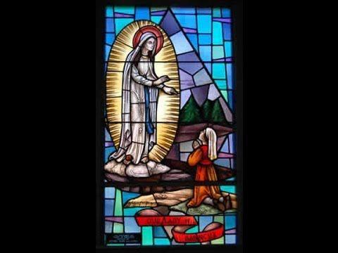 L'apparition de Notre Dame à Banneux, Belgique, 1933