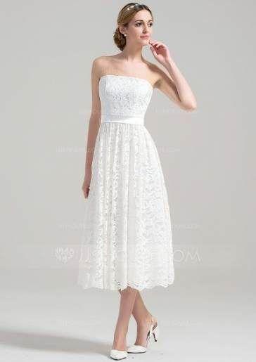 337f3b53a5c7 Wedding dresses lace princess tea length 16+ Ideas | Wedding Idea ...