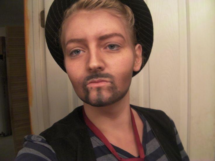 Fixed up the beard :P