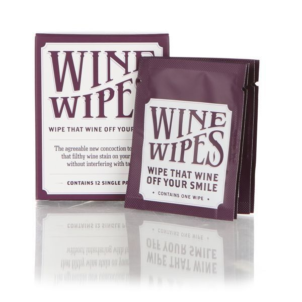 Wine Wipes Individual Packs