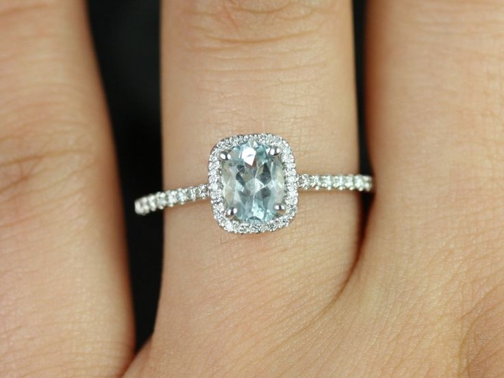 ive become obsessed with the aqua engagement rings sos non diamond engagement - Non Diamond Wedding Rings