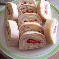 Fotografie receptu: Nepečená sýrová roláda