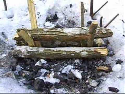 Bushcraft skills - Fire series the Nying - YouTube