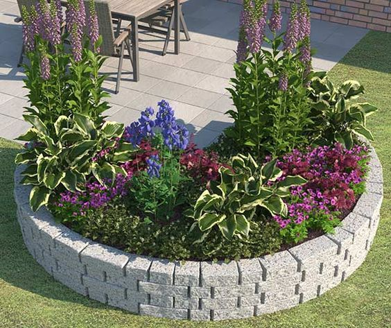 823 best retaining wall ideas images on pinterest diy for Gartenplatz anlegen