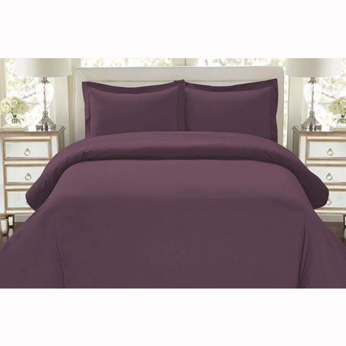 3Pc Comforter Set Full Queen Size Ultra Silky Duvet Cover Egyptian Quality New