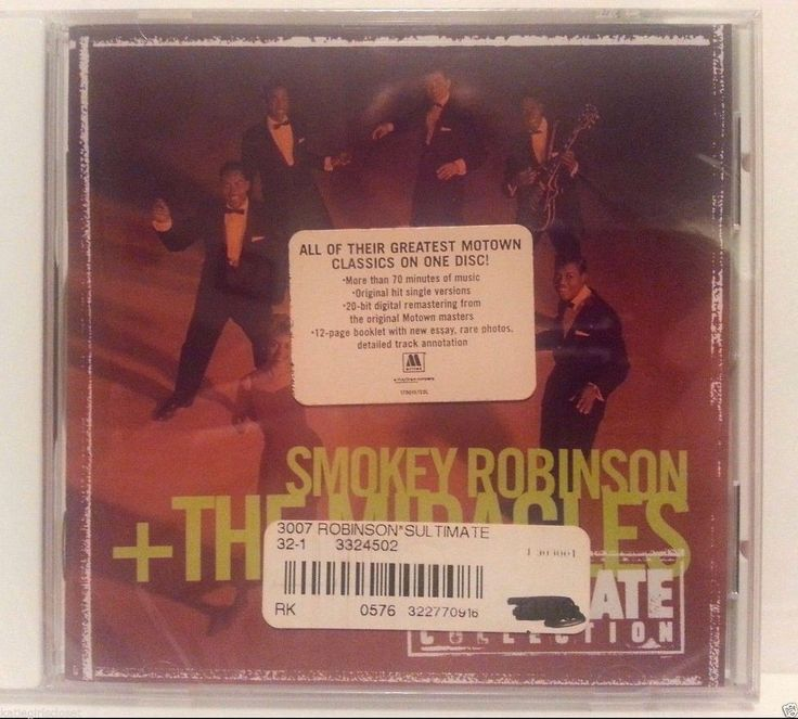 Smokey Robinson + The Miracles The Ultimate Collection [1998] 1 DISC SEALED CD #Motown