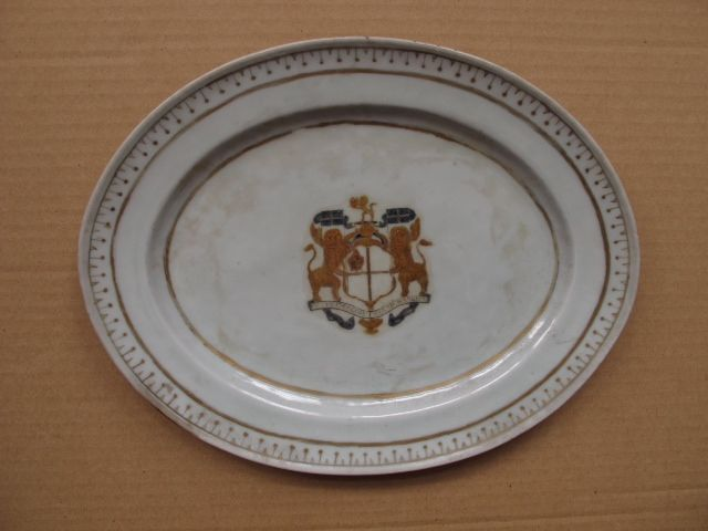 Figure 13 Platter with East India Companyu0027s coat-of-arms Diana cargo & 56 best Hon. East India Company dinner service c.1798 images on ...