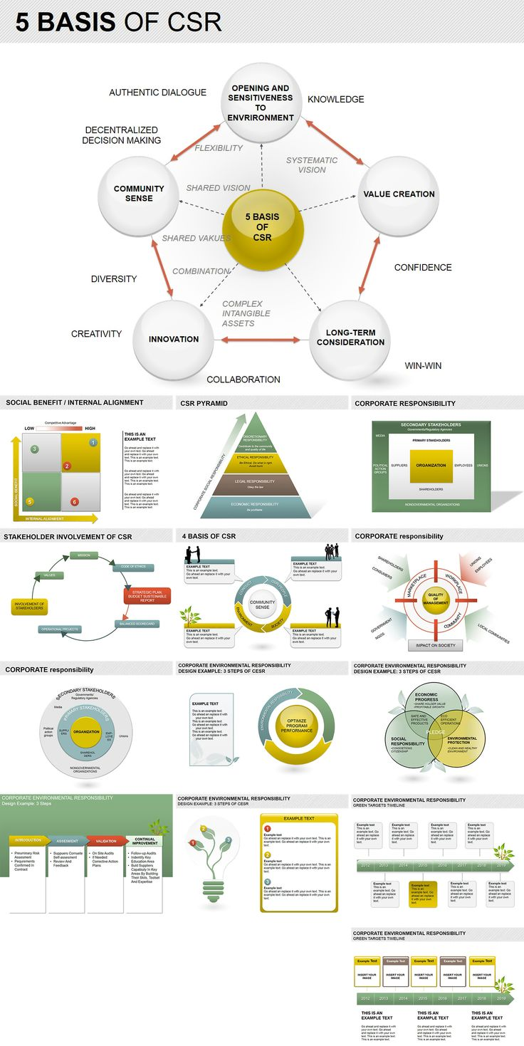 Basis of CSR PowerPoint Diagrams (With images) Csr