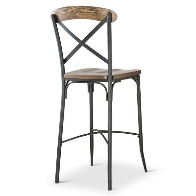 29 Quot Bralton Barstool Steel Brown Homelegance In 2019