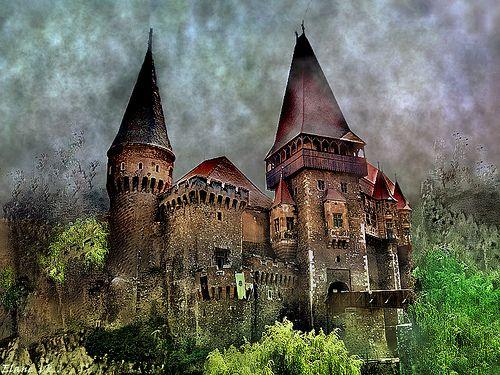 Corvin castle, Romania.