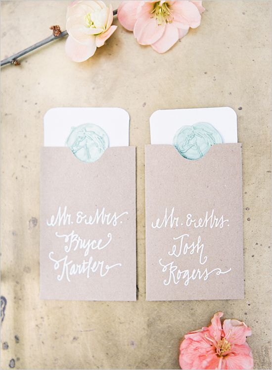 Beautiful Derby themed taupe, handlettere d wedding escort cards.  Photographer: Landon Jacob  Venue: Three Fox Farm   Invitations, Escort Cards & Custom Wood Signage: Lady Letterpress