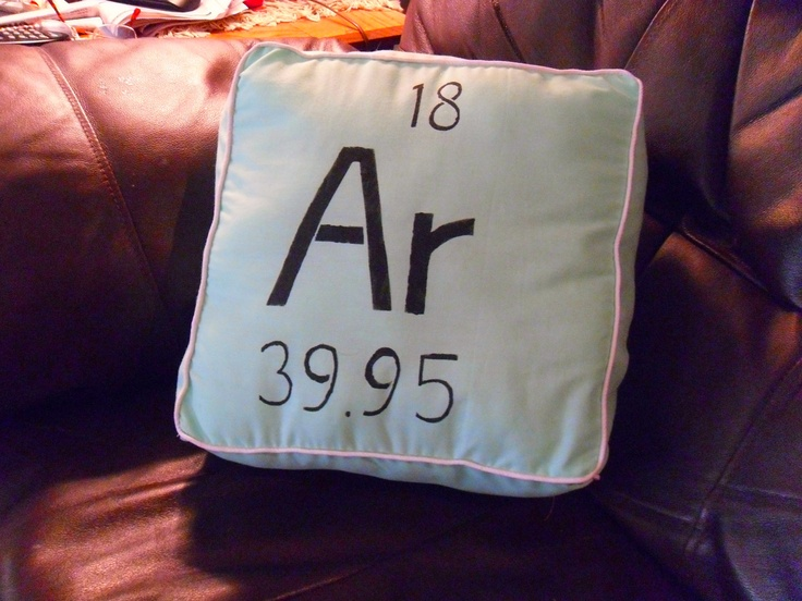 Seafoam Argon Peridoc Table Pillow. $14.00, via Etsy.