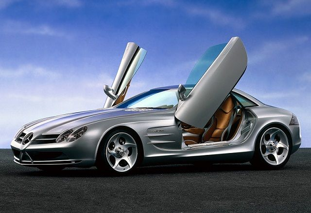 1999 MercedesBenz Vision SLR Concept Mercedes benz