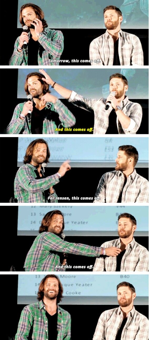 I love how proud of himself Jared is in the last pic XD He knows how to make the audience scream.